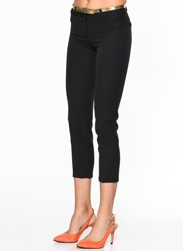 İroni Dar Paça Kumaş Pantolon Siyah